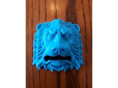 狮子头-3d打印模型