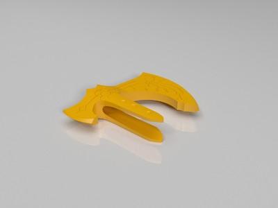 战神4 寒冰之斧 -3d打印模型