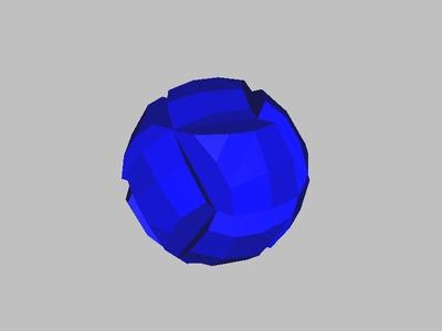 简版鲁班球-3d打印模型