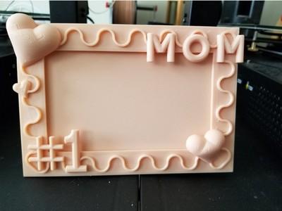 母亲节 相框-3d打印模型