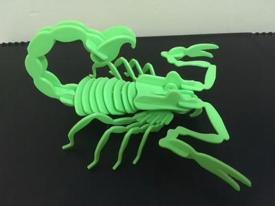 拼装蝎子王-3d打印模型