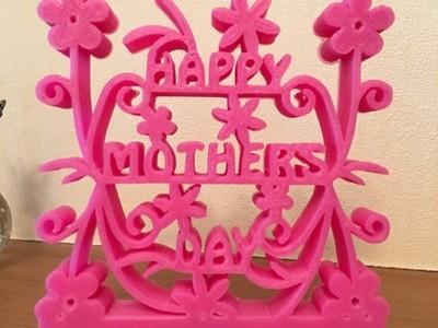 母亲节 摆件-3d打印模型