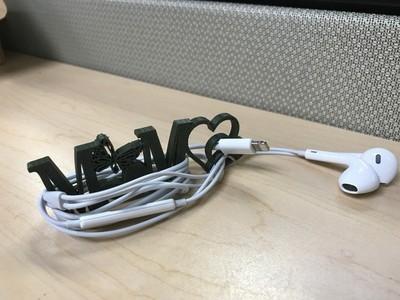 耳机整理器-3d打印模型