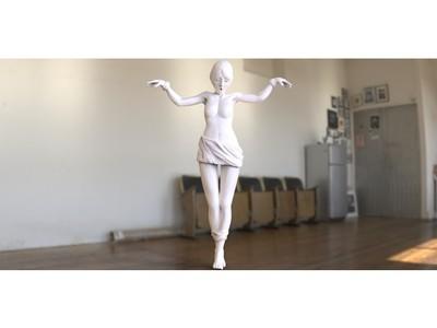 美女-3d打印模型
