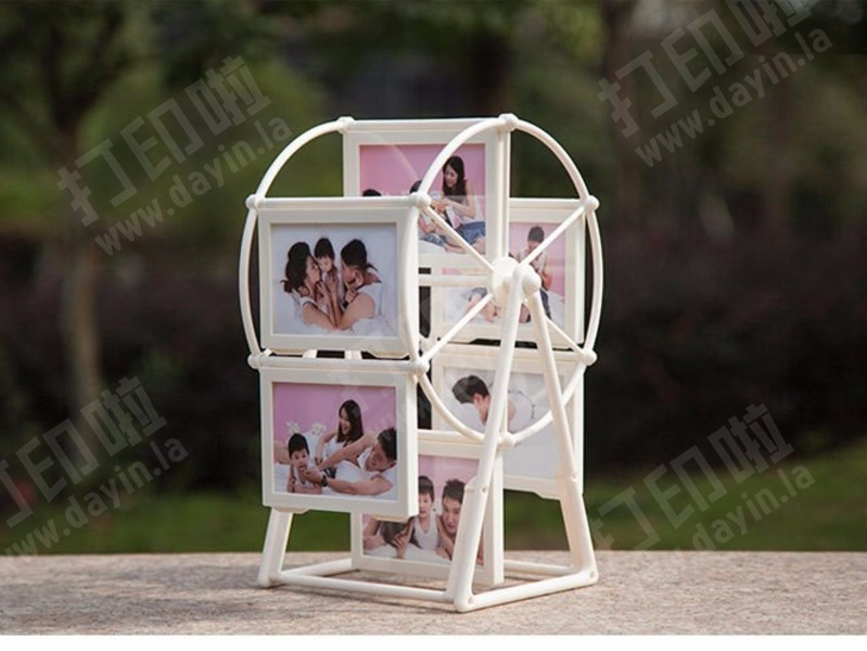 摩天轮相框-3d打印模型