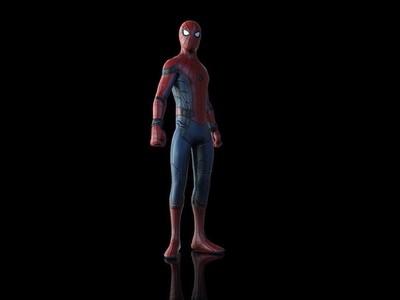 漫威复仇者联盟--蜘蛛侠(六种姿势)-3d打印模型