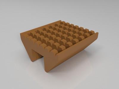 百洁布架/肥皂架-3d打印模型