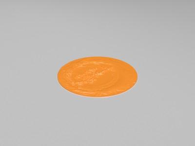 神仙姐姐浮雕台灯-3d打印模型
