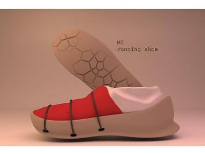m2跑鞋-3d打印模型