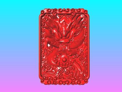 经典玉雕系列-龙吐珠 2 -3D打印-3d打印模型
