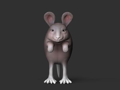 老鼠-3d打印模型