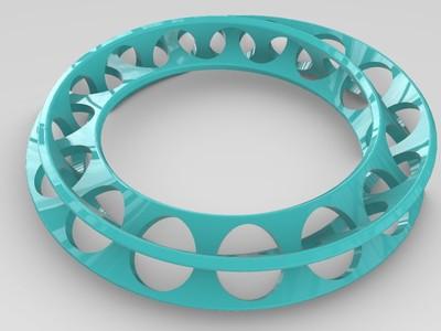 莫比乌斯套环-3d打印模型