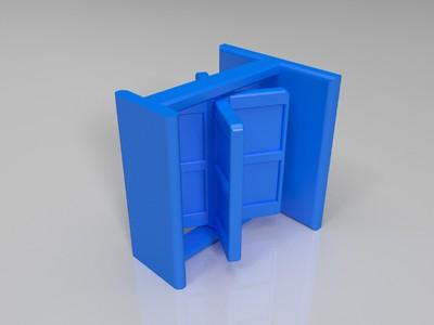 大头贴-3d打印模型