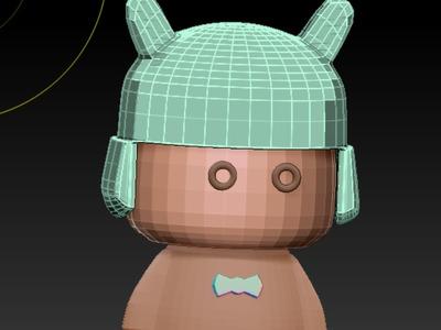 小玩具-3d打印模型