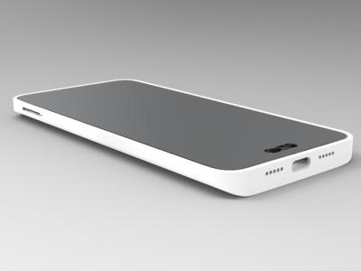 小米5手机壳-3d打印模型