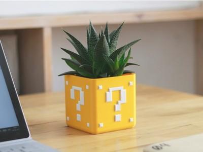 迷你花盆-3d打印模型