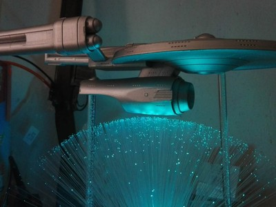 飞船灯底座-3d打印模型
