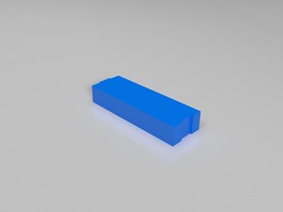 砖头-3d打印模型