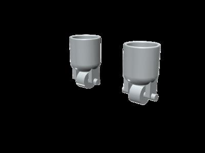 手指滑轮-3d打印模型