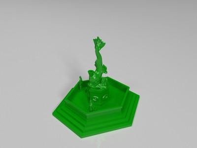 倒流香(模型一)-3d打印模型
