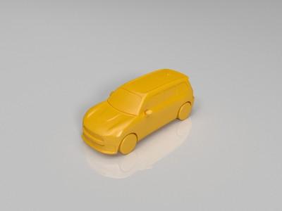 mini汽车模型-3d打印模型