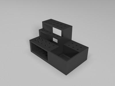 螺丝刀扳手架-3d打印模型