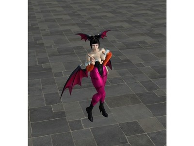 女魔鬼-3d打印模型