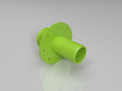 进水管-3d打印模型