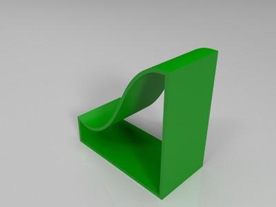 滑梯模型-3d打印模型