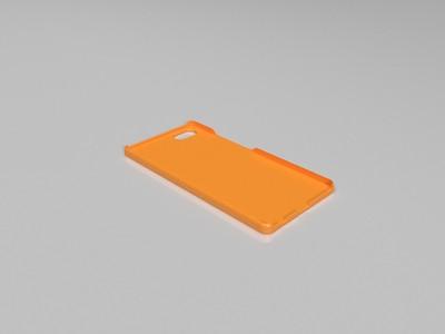 vivo X9PLUS手机壳-3d打印模型
