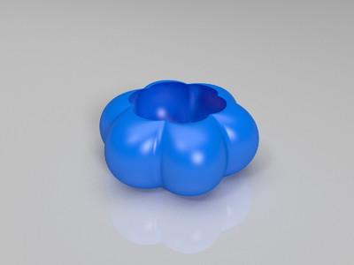南瓜灯罩-3d打印模型