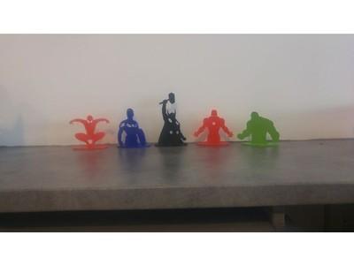 复仇者联盟2D-3d打印模型