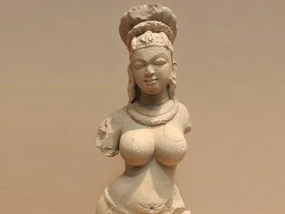 女人半身像-3d打印模型