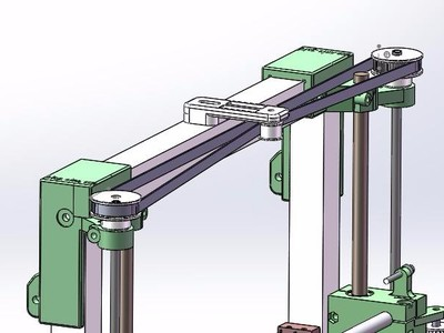 可折叠收藏和便于携带的3D打印机4-3-3d打印模型