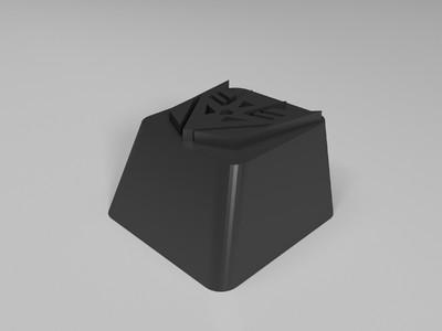 变形金刚机械键盘键帽OEM高度-3d打印模型
