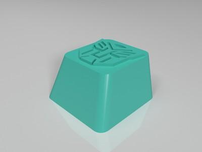 变形金刚机械键盘键帽OEM高度完美版-3d打印模型