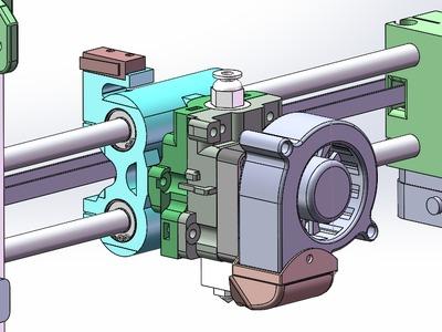 可折叠收藏和便于携带的3D打印机4-4-3d打印模型