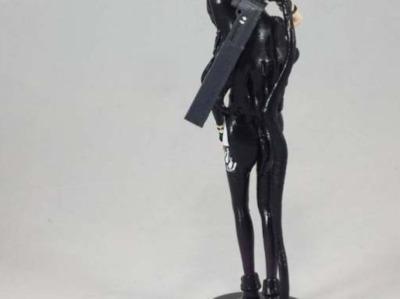 布莱克少女-3d打印模型