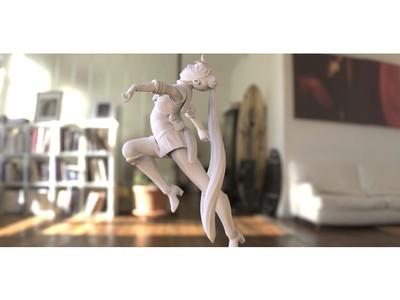 美少女战士-3d打印模型
