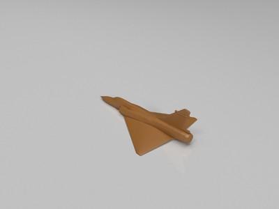 幻影-2000战机-3d打印模型