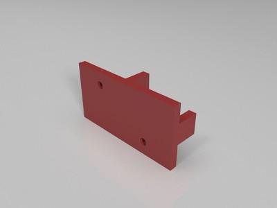 航模飞机投放器-3d打印模型