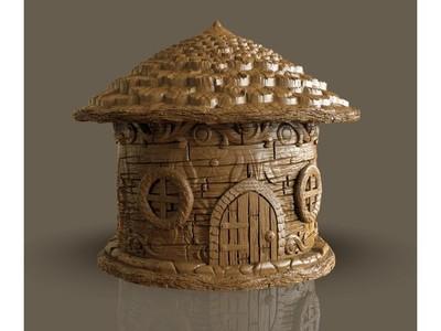 童话的房子——橡子-3d打印模型