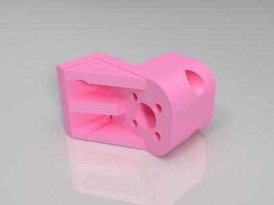 悬臂Z轴螺母板-3d打印模型
