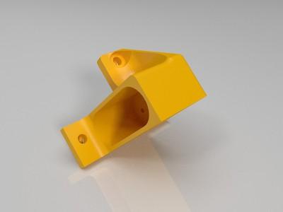 悬臂打印机后部电源插座专用固定加强件-3d打印模型