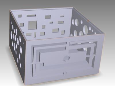 创意盒子-3d打印模型
