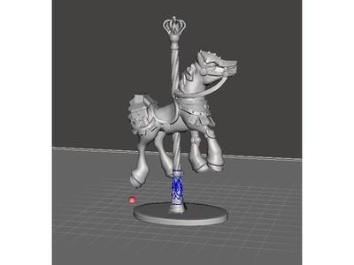 木马-3d打印模型