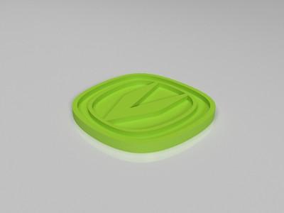 长安汽车车标-3d打印模型