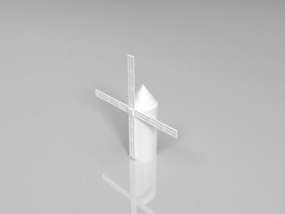 荷兰风车-3d打印模型
