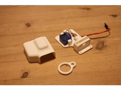 无人机投放器(Drone drop release mechanism)-3d打印模型