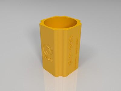 龙宇笔筒-3d打印模型